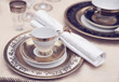 Set of fine bone porcelain dishware - 70166099