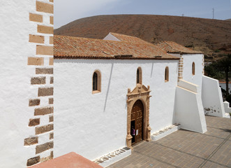 L'église Santa María de Betancuria à Fuerteventura