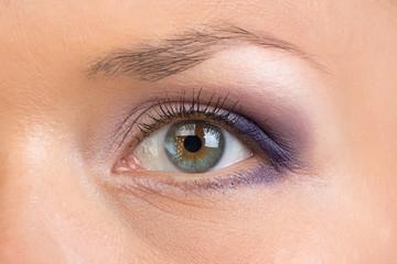 Image of woman gray eye