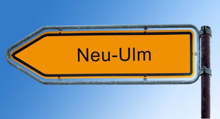 Strassenschild 7 - Neu-Ulm