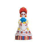 Chocolate souvenir - colorful figure of mastic poster