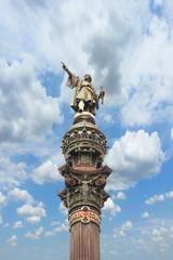 Colon statue in Barcelona