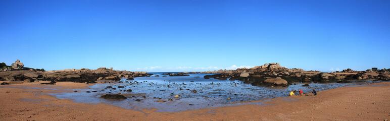 Beautiful beach panorama