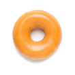 Glazed Donut on White - 70169698