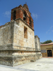 Ancient Christian church in santo domingo