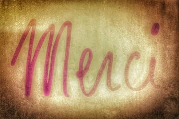 merci - pink