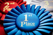 1st place winners rosette or badge - 70170823