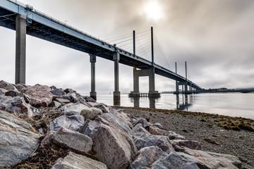 Panoramic Kessock Bridge