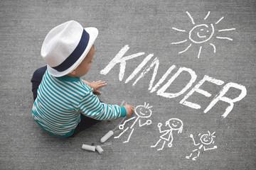 Kinderzeichnung - Kinder
