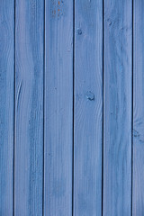 Blue wooden planks surface background