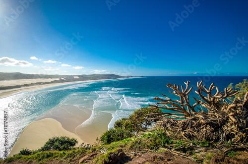 Aluminium Australië Wonderful Bay on Fraser Island