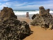 Spaziergang am Strand von Chiclana