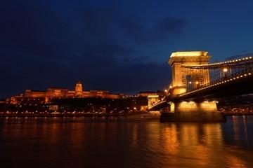 The Chainbridge in Hungary Budapest