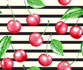 Cherry and line