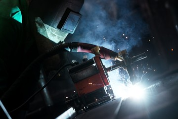Industrial Worker at the factory