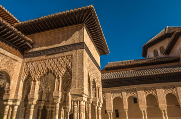 Alhambra Palace in Spain
