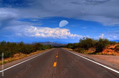 Desert Mountain Road - 70177666