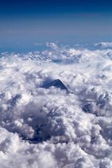 Dent Blanche in den Wolken