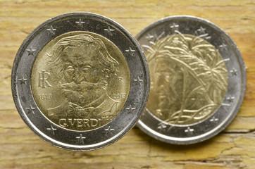 Euro italiani Olasz euróérmék Włoskie monety Монеты евро Италии