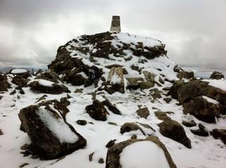 Ben Nevis Mountain summit