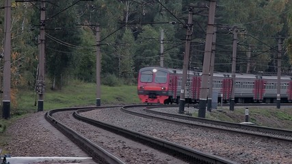 Stock Video Footage Passenger train