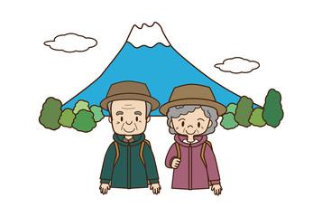 高齢者の登山