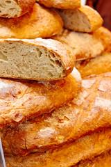 Flatbread at the market