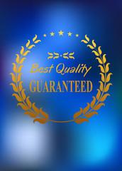 Best quality product label or emblem