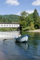 McKenzie River driftboat
