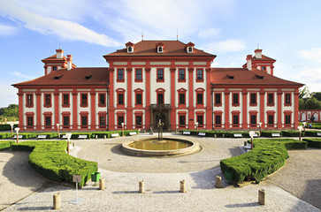 Troja Palace in Prague.