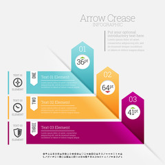 Arrow Crease Infographic