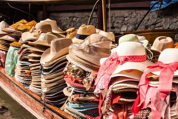 Boat full of hats