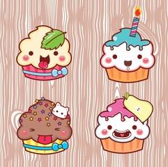 cartoon cupcake 22