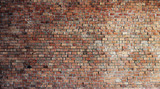 Empty Red Brick Wall Background - 70186005