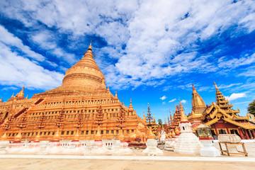 Shwe Zi Gon Paya Temple in Nyaung-U Bagan, Myanmar