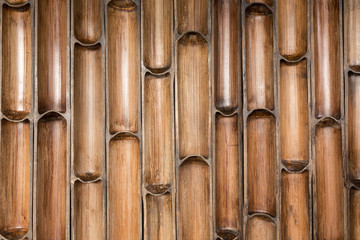 Bamboo wall pattern