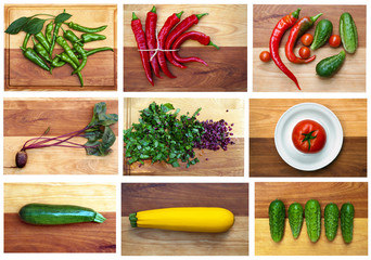 Fall Vegetable Collection