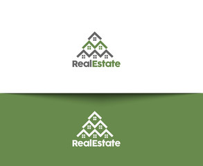 Real Estate Icons and Vector Logo