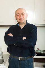 man at  kitchen