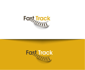 Fast Track web Icons and vector logo