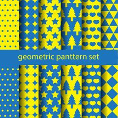 basic geometric pattern set 2
