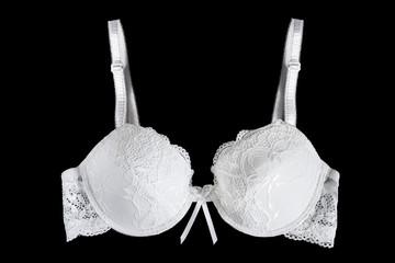 White bra