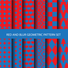 12 seamless pattern set, vector