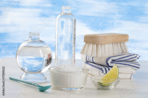 Detergeant biologique,   vinaigre blanc, citron et  bicarbonate - 70188632
