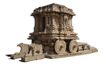 Stone chariot at vittalla temple