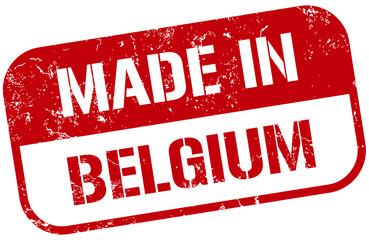 made in belgium stamp