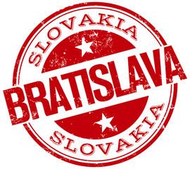 bratislava stamp