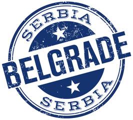belgrade stamp