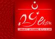 Tipografi Çalışması; 29 Ekim Cumhuriyet Bayramı
