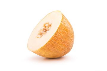 cut ripe melon